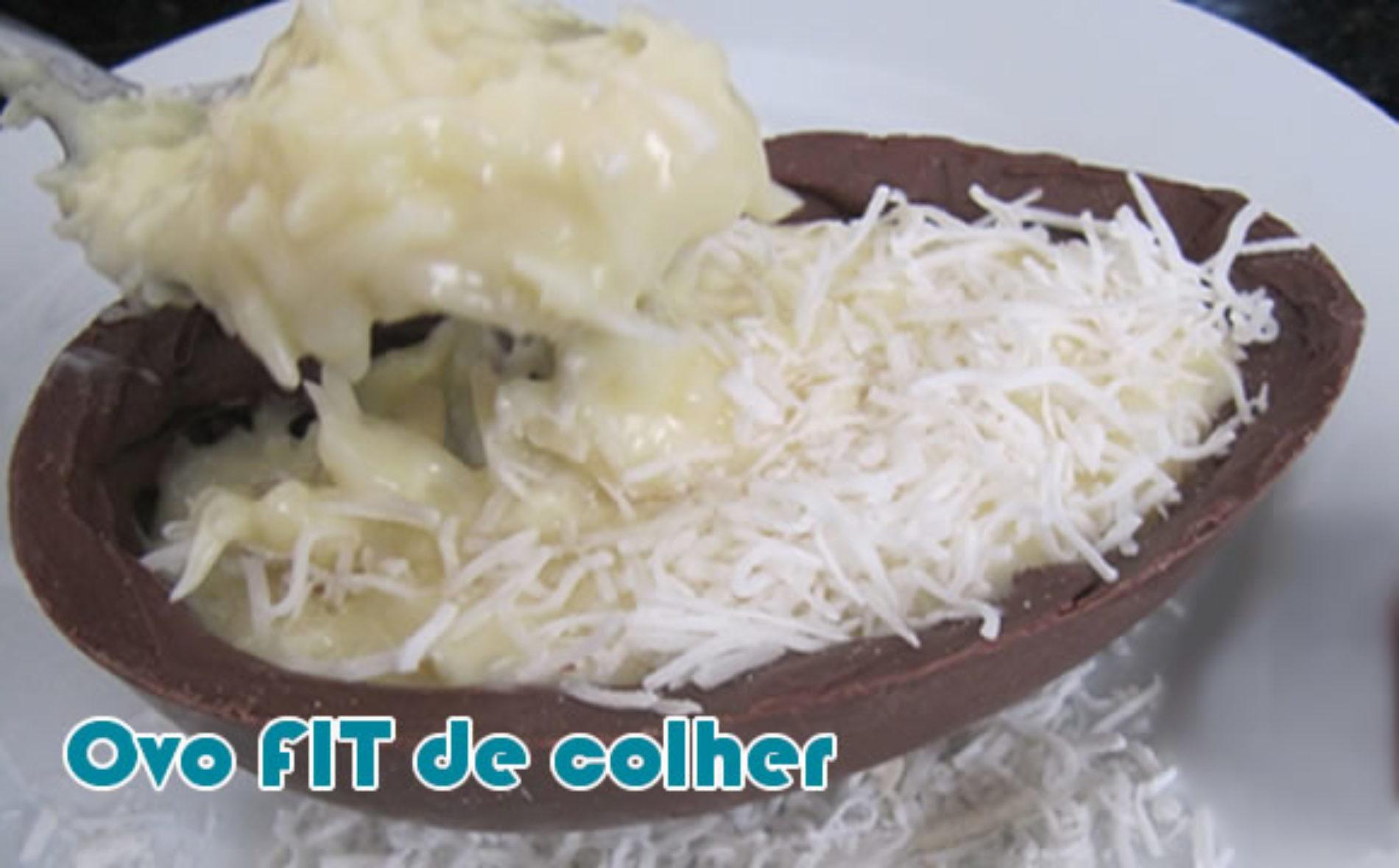 Ovo De Colher De Chocolate Páscoa Fit Para Dieta Páleo Receitas