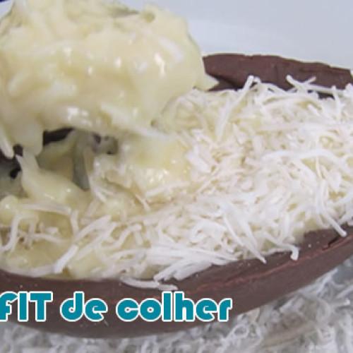 Ovo de colher de chocolate – Páscoa FIT para dieta Páleo