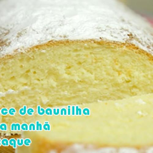 Pão de baunilha doce dukan
