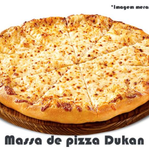 Receita de massa de pizza dukan sem farelos