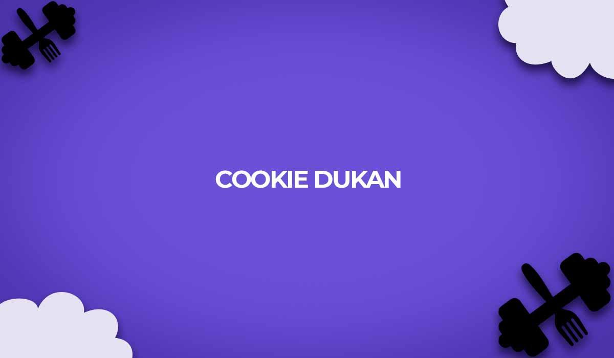 receita dukan cookie em neve ataque