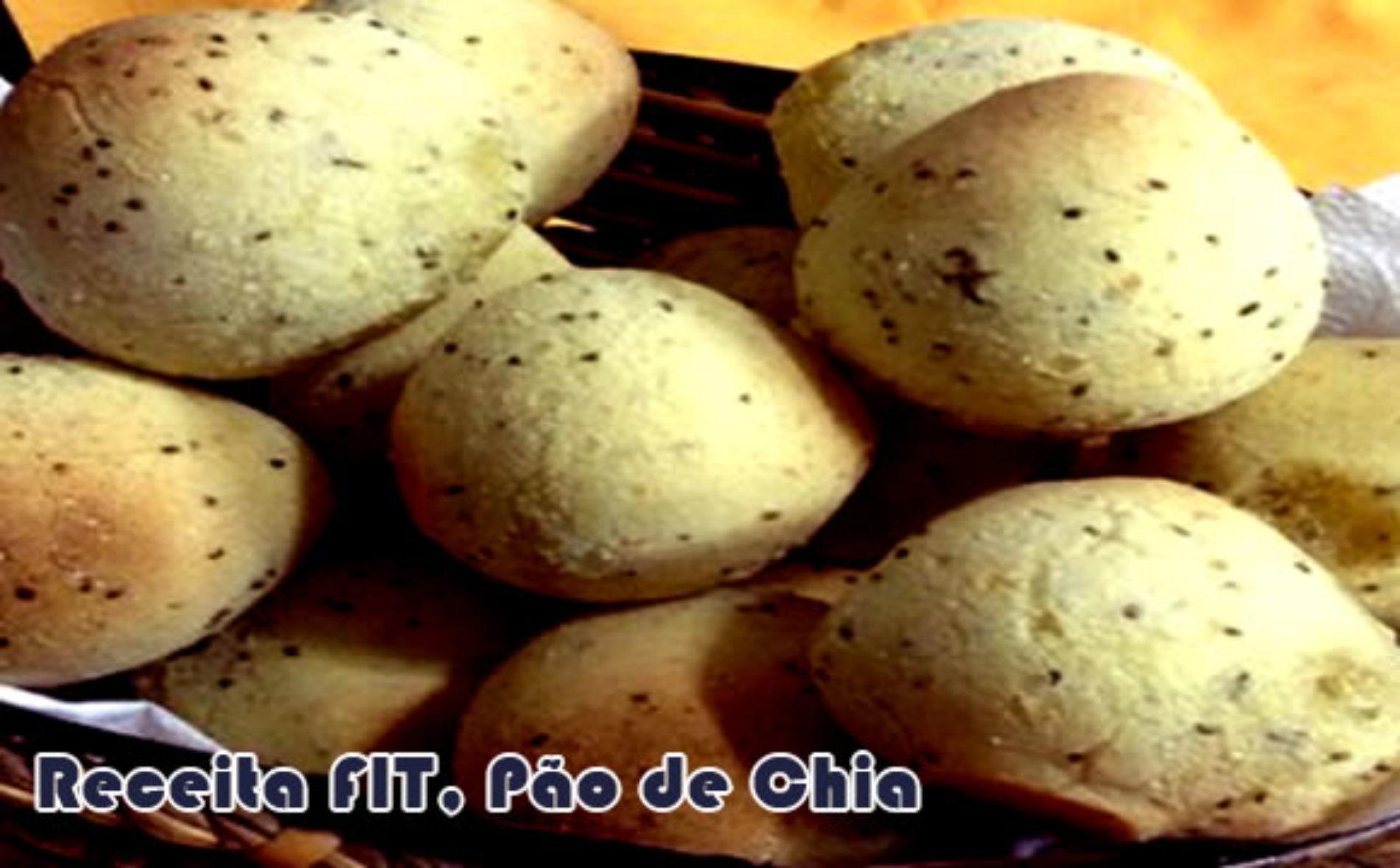Pão de queijo falso FIT – O Pão de chia