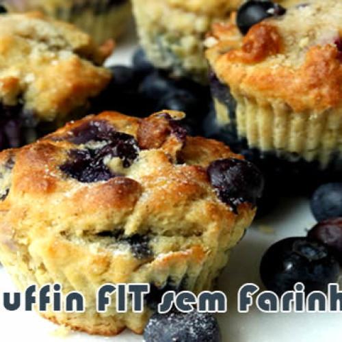 Muffin FIT sem farinha