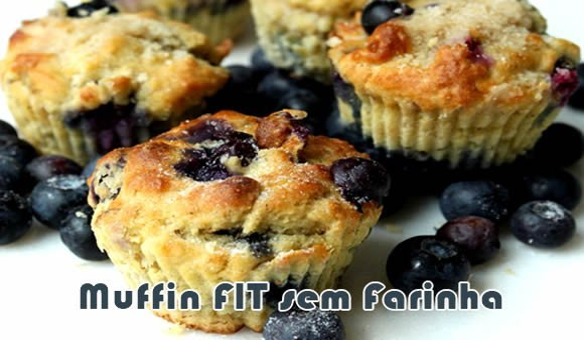 receita muffin fit sem farinha