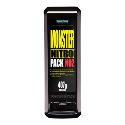 O que é Monster Nitro Pack – Suplemento?