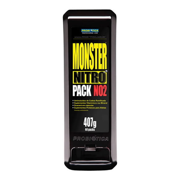 o que eh monster nitro pack no2 suplemento