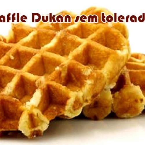 Waffle Dukan sem tolerados