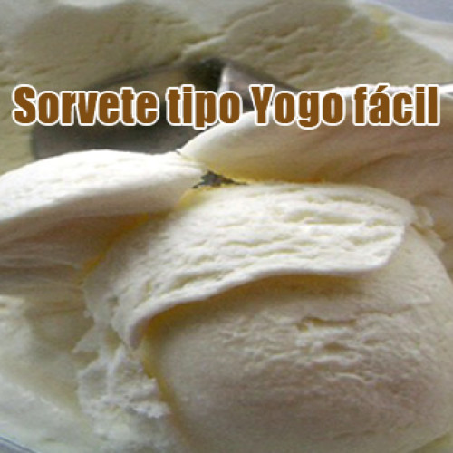 Sorvete Yogo FIT Dukan