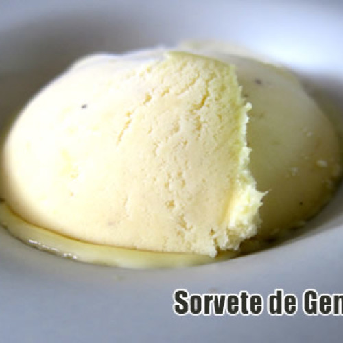 Sorvete de gengibre FIT