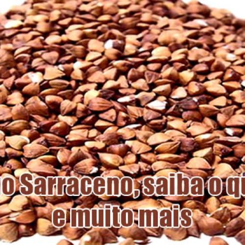 Conheça o Trigo Sarraceno e seus benefícios