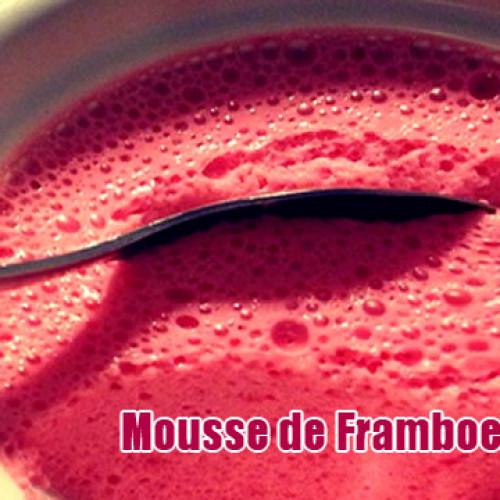 Mousse Zero de Framboesa