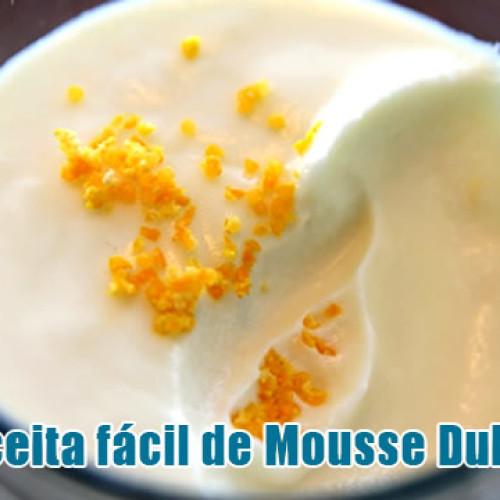 Mousse Dukan com apenas 4 ingredientes