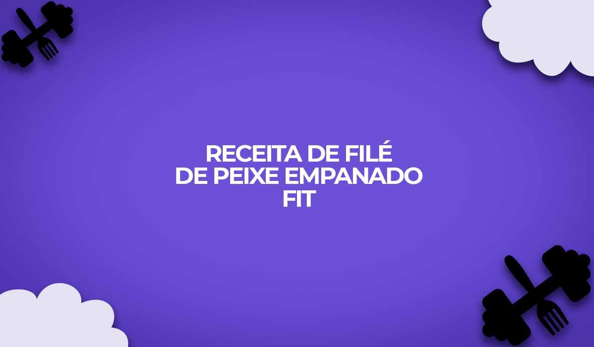 receita dukan file de peixe empanado fit