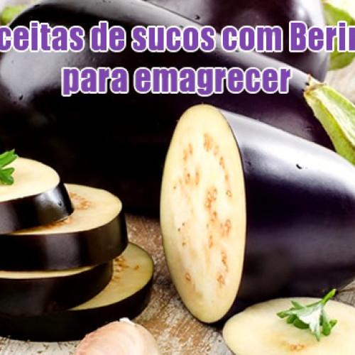 Sucos de berinjela – 11 receitas com berinjela para emagrecer