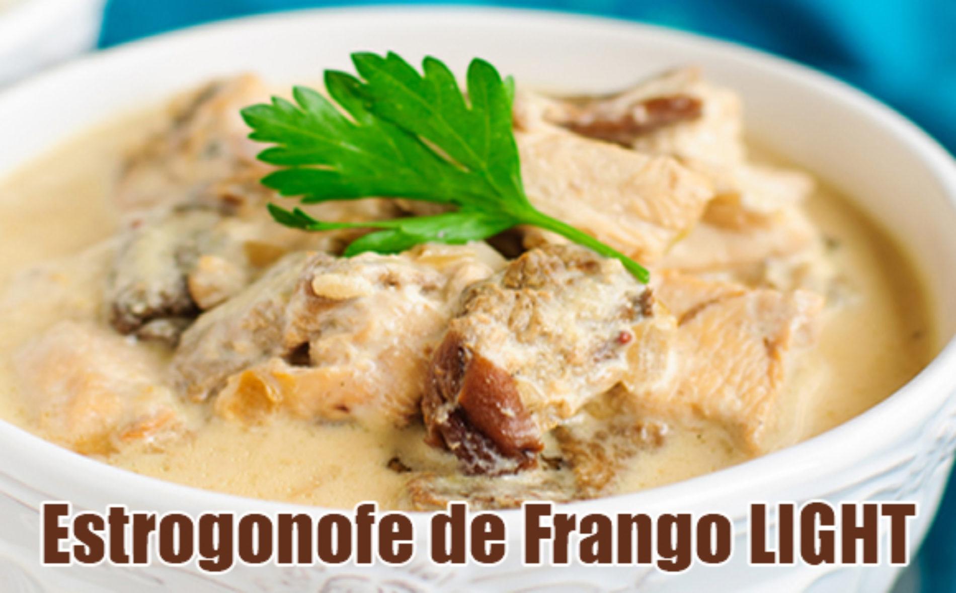 Estrogonofe de frango FIT – Strogonoff Light