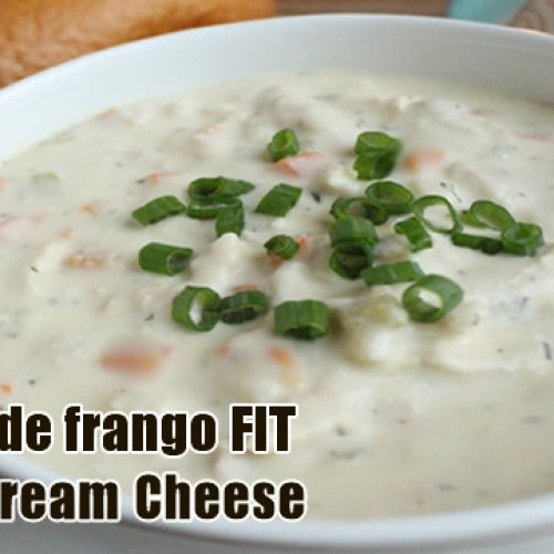 Sopa de frango FIT com Cream Cheese