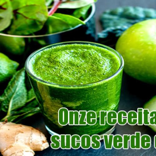 11 diferentes receitas de suco verde – Detox