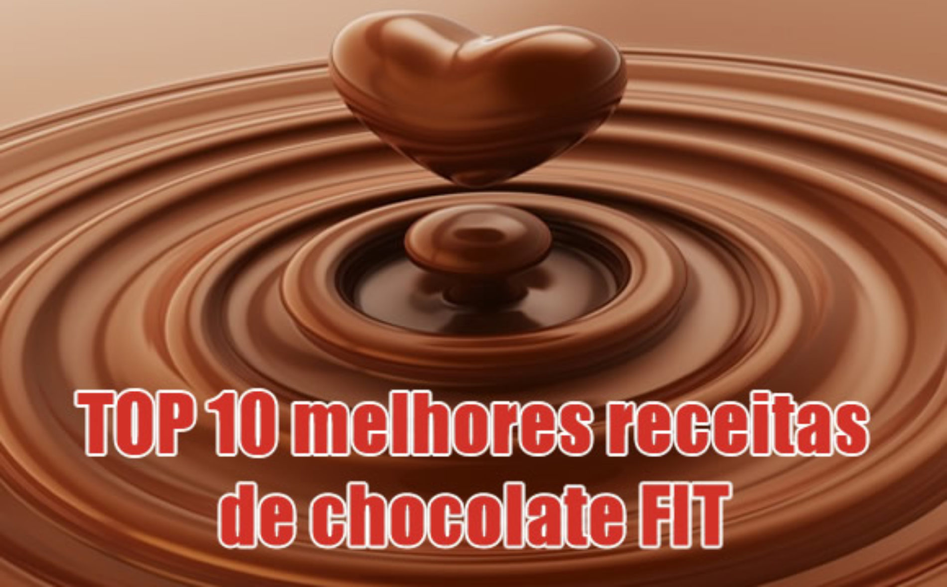 Receita Fitness de Chocolate – TOP 10 receitas veganas Low Carb