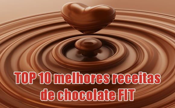 chocolate receitas fit vegana fitness