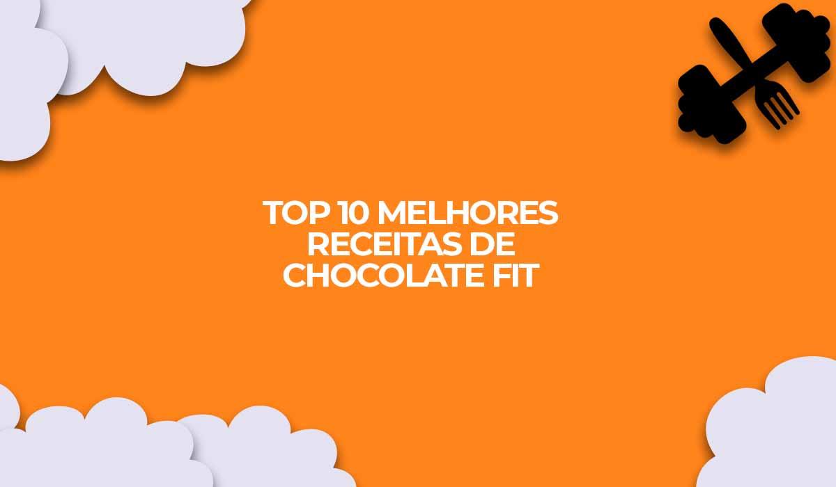 chocolate receitas fit vegana fitness