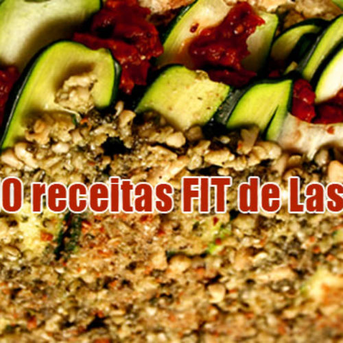Receita Fitness de Lasanha Low Carb – TOP 10 receitas light