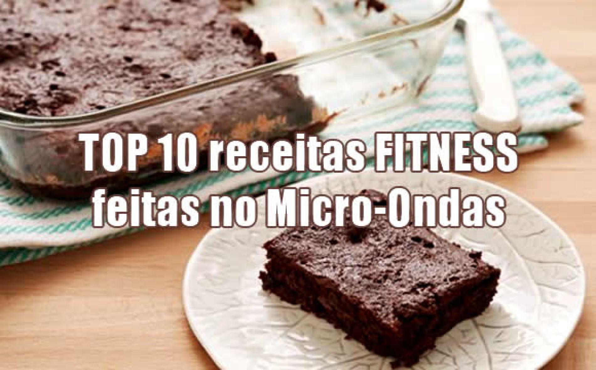 Receita Fitness de Microondas – TOP 10 receitas
