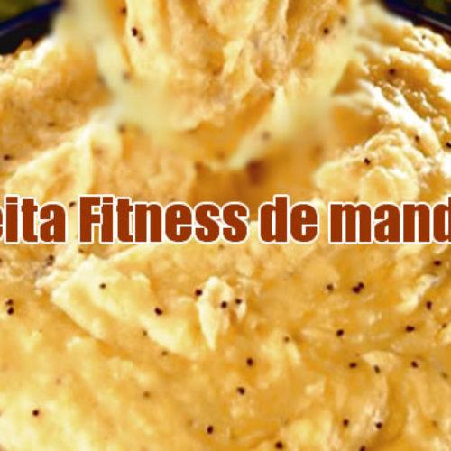 Receita fitness de mandioca