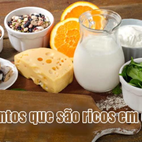 Cálcio, tabela com alimentos ricos neste nutriente para os ossos