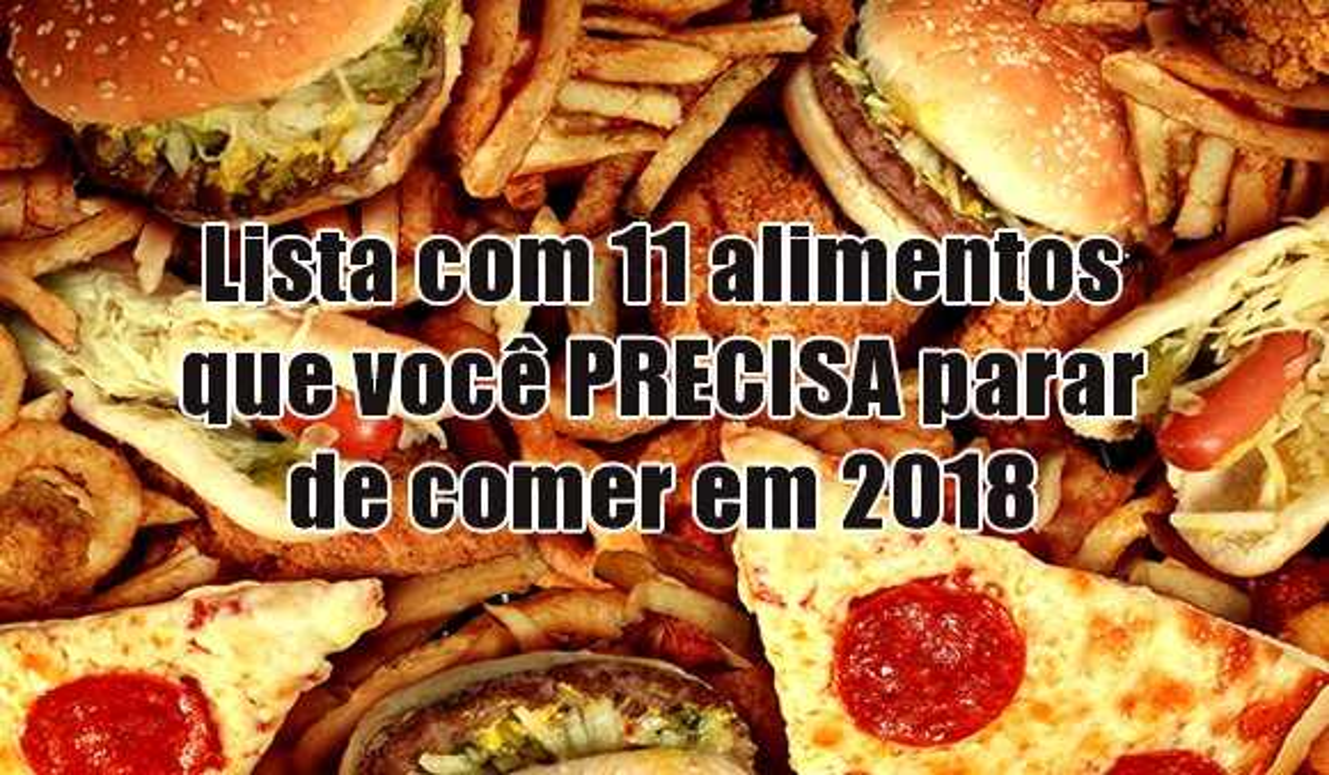 lista 11 alimentos parar comer 2018