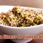 receita fit quinoa algas fitness