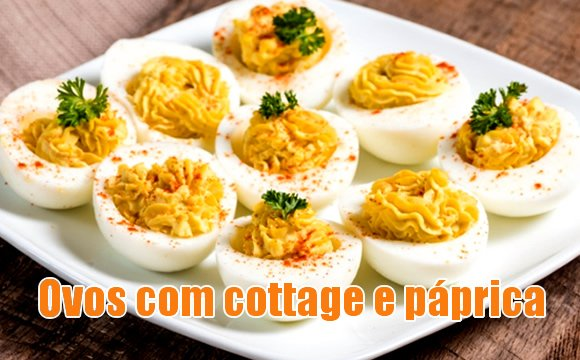 receita ovo gourmet fitness cottage paprica dukan