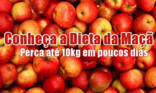 Dieta da Maçã – Emagreça comendo 3 maçãs por dia