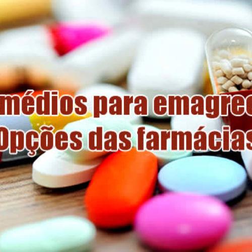 Remédios para emagrecer urgente