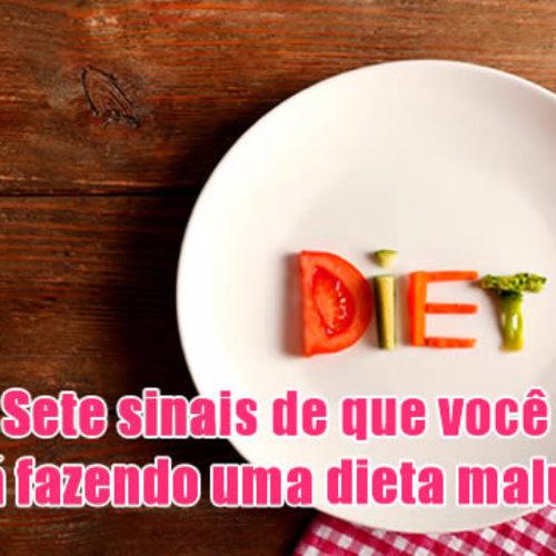 SETE SINAIS que você está fazendo uma dieta maluca prejudicial