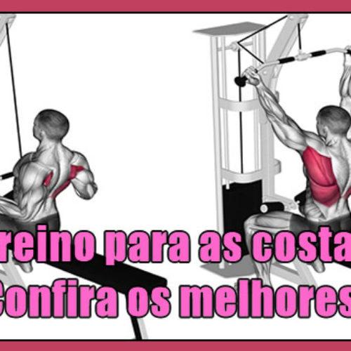 Exercícios para as costas – Os melhores fitness