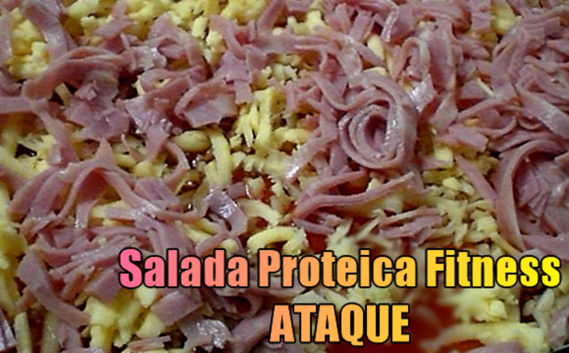 Salada proteica Fitness Ataque