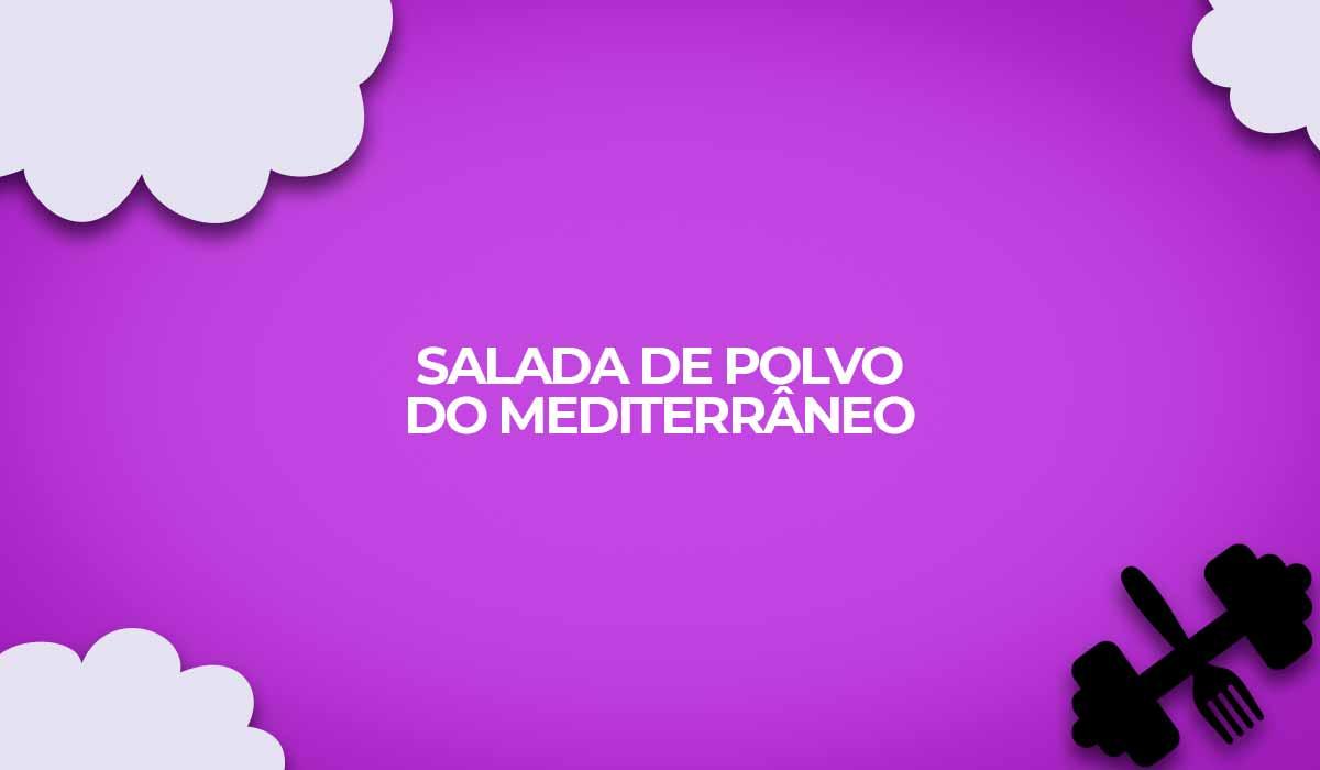 salada de polvo mediterraneo fitness