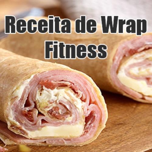 Wrap queijo e presunto Fitness Dukan Ataque