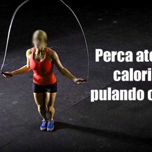 Queime e emagreça até 800 calorias pulando corda