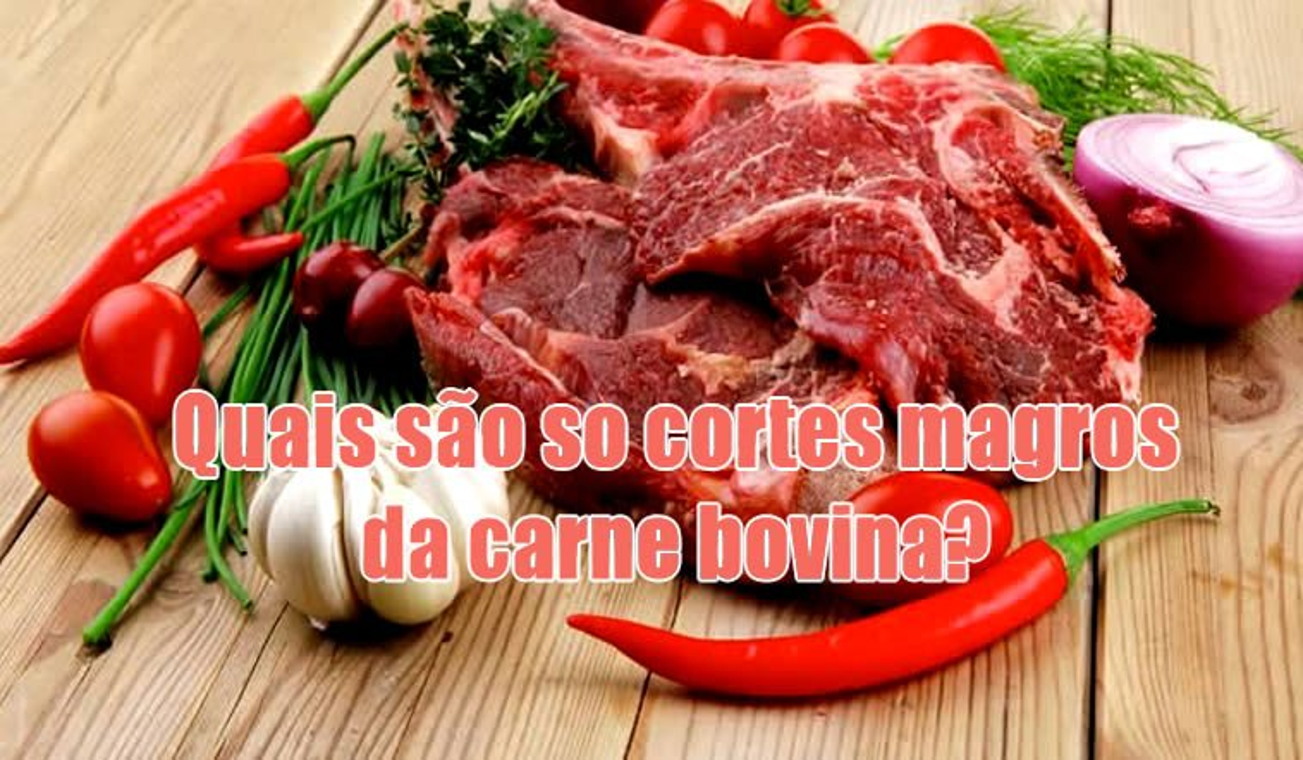 cortes magros carne vermelha bovina