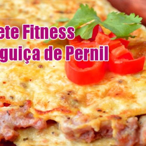 Omelete Fitness com linguiça de pernil suíno