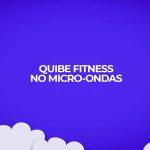 receita fitness quibe assado microondas