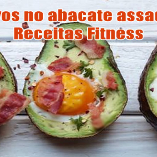 Ovos no abacate assado com Bacon