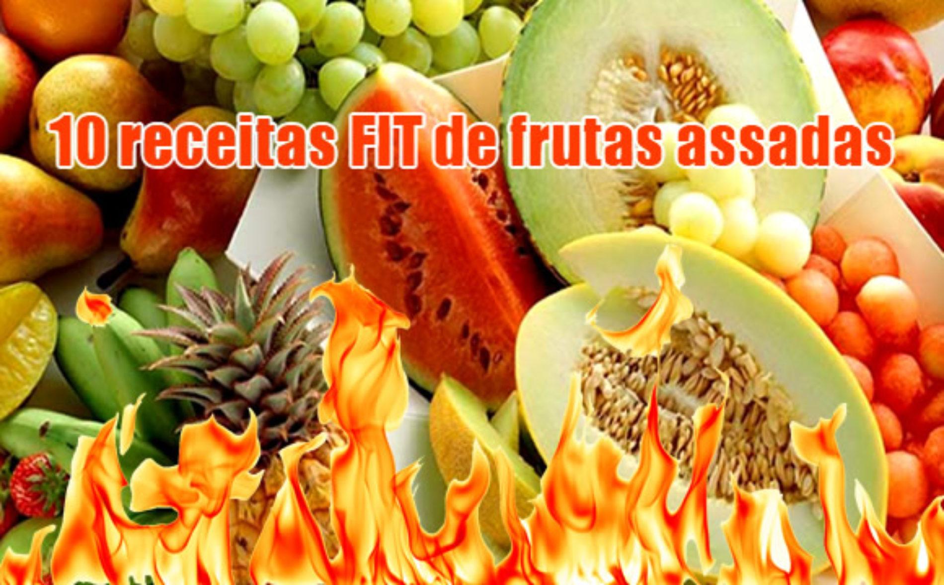 TOP 10 melhores receitas de frutas assadas FITNESS