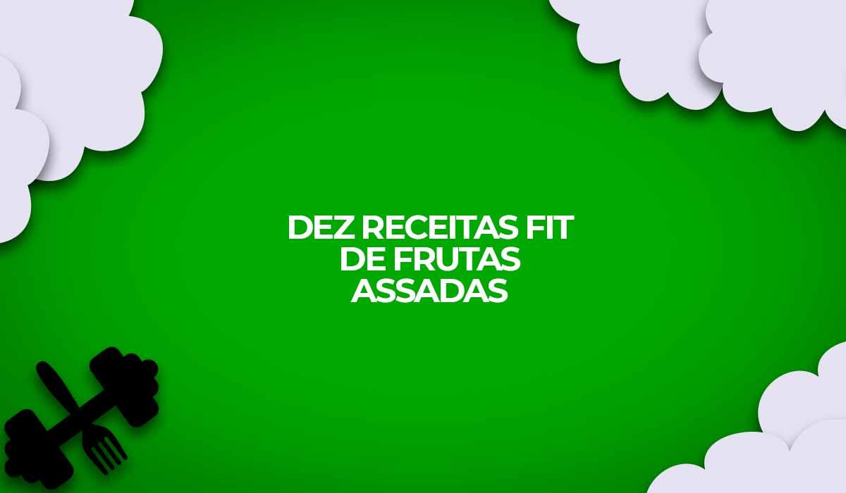receitas fitness frutas assadas