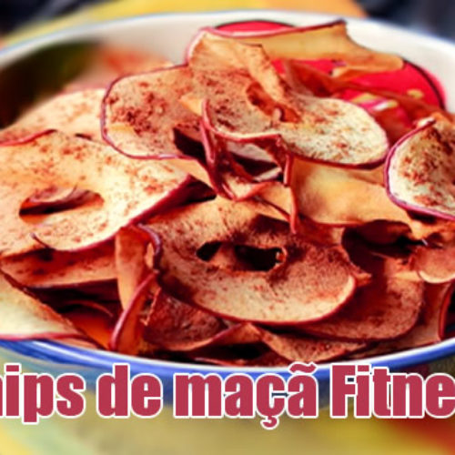Chips de Maçã – Petisco FIT para enganar a fome