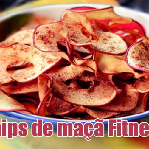 Chips de Maçã – Petisco FIT para enganar a fome