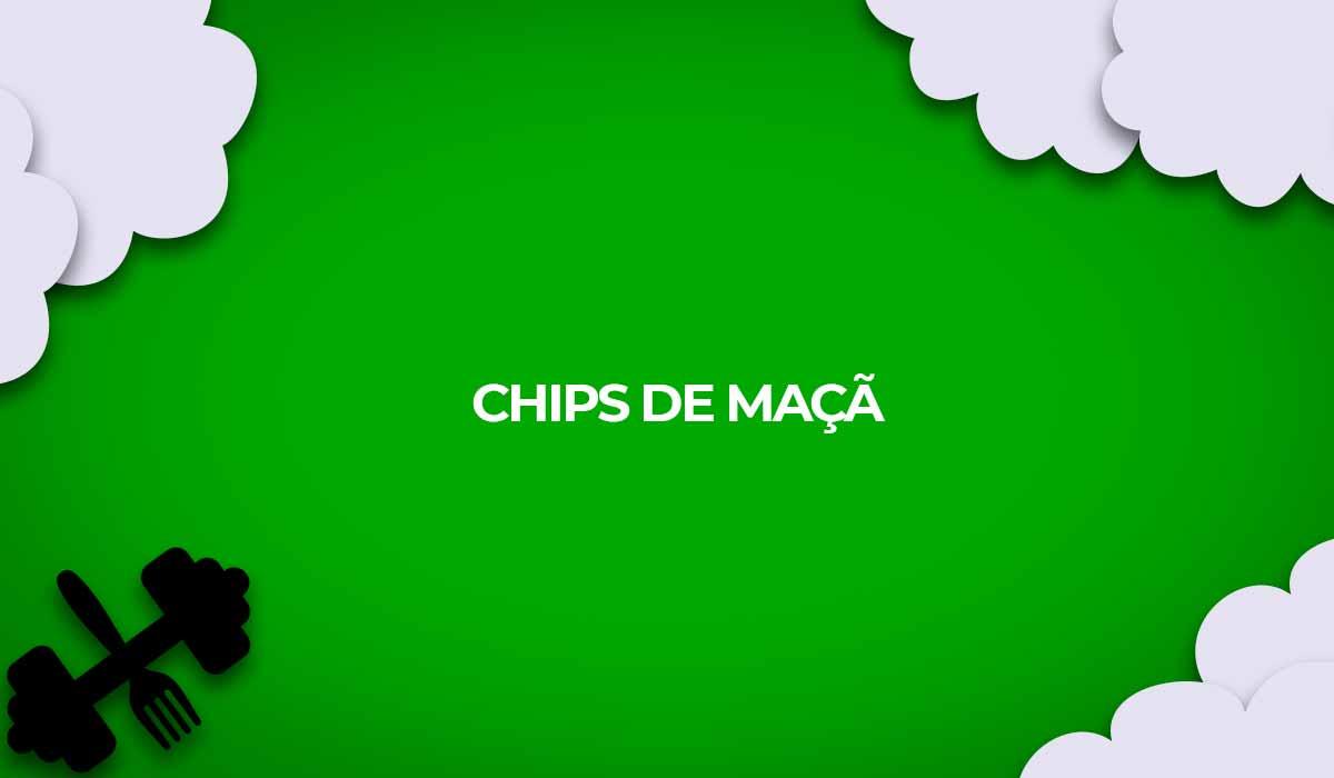 receita fitness chips maca