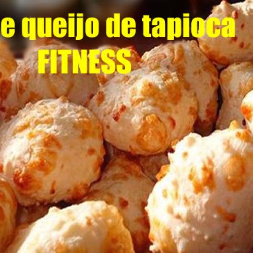 Pão de queijo Fitness de Tapioca com temperos