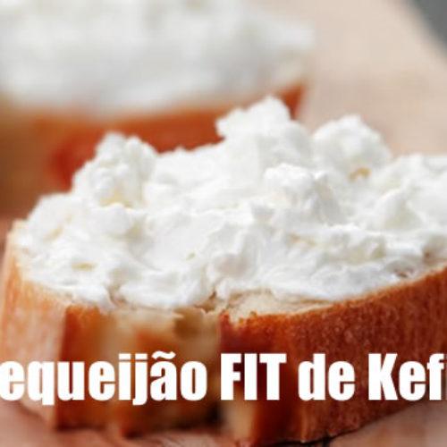 Requeijão de kefir com amido de milho (Maizena)